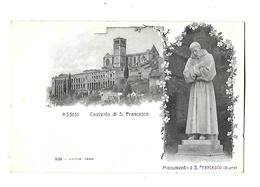 ITALIE----ASSISI---convento Di S. FRANCESCO---voir 2 Scans - Italy