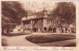Groet Uit Gorssel Sanatorium Den Oldenhof - Niederlande