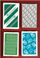 BANQUE CREDIT AGRICOLE LOT 4 JEUX DE 32 CARTES A JOUER FABRICANT HERON A MERIGNAC 33700 - 32 Cartes