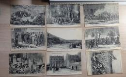Documents Historiques - Lot De 36 Cartes Postales - Mai 1871 Et Transfert Des Cendres De Napoléon - Voir 5 Scans - Historia