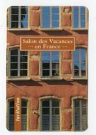 CdV ° Pass-Invitation-Salon Des Vacances.1-...en France...-75015-1996-R/V - Tarjetas De Visita