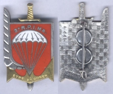 Insigne Du 3e Régiment Parachutiste D'Infnaterie De Marine - Armée De Terre