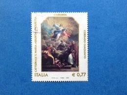 2003 ITALIA ARTE PATRIMONIO GIAQUINTO ASSUNTA CATTEDRALE MOLFETTA FRANCOBOLLO USATO ITALY STAMP USED - 2001-10: Usados