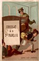 Chocolat DE LA CIE FRANCAISE  GARE LES JAMBES - Cioccolato