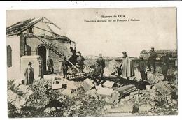 CPA-Carte Postale Belgique-Malines - Poudrière Détruite Par Les Français En 1914 VM11866 - Malines