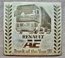 PRESSE-PAPIER ? ? RENAULT AE TRUCK OF THE YEAR 91 - Presse-papiers