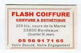 CdV °_ Coiffeur-33-Bordeaux-Flash Coiffure-Votre Beauté - Tarjetas De Visita