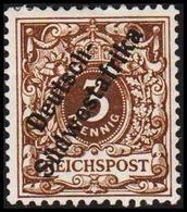 1898 - 1899. Deutsch-Südwestafrika 3 Pf. REICHSPOST. (Michel 5a) - JF319558 - Colonia: Africa Sud Occidentale