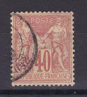 D105/  SAGE N° 70 OBL COTE 35€ - 1876-1878 Sage (Type I)