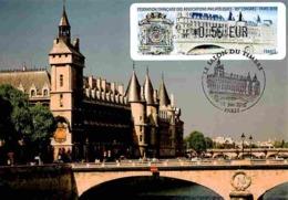 Carte Maximum 2010 - Paris, La Tour De L'horloge De La Conciergerie. Vignette LISA - Maximum Cards
