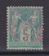 D105/  SAGE N° 75 CACHET ROUGE - 1876-1898 Sage (Type II)