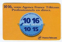 CdV °_ Opérateur-F.T-1016-Votre Agence - Tarjetas De Visita