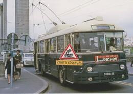 Trolleybus APV De Brest, Au Pont De Recouvrance (29) - - Brest