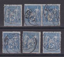 D105/ LOT SAGE N° 79 OBL - 1876-1898 Sage (Type II)