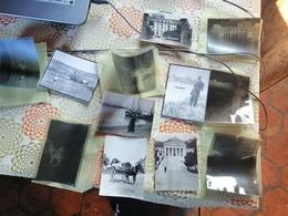 Lot De 6 Photos Avec Negatif Avant 1900  Un Poillue Et Chamonix Palace - Anciennes (Av. 1900)