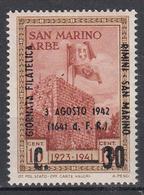 SAN MARINO - Michel - 1942 - Nr 256 - MH* - Saint-Marin