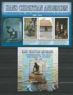 Lesotho 2005 The 200th Anniversary Of The Birth Of Hans Christian Andersen,1805-1875.Denmark,Mermaid,M/S And S/S. MNH - Lesotho (1966-...)