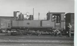 LOCOMOTIVE - 3526 Mondidier;  Photo Format Carte Ancienne à Noyelles En 1949. - Trains