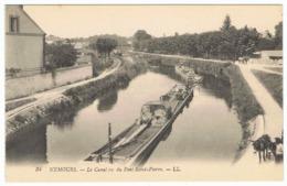 NEMOURS Le Canal Vu Du Pont Saint-Pierre - Viroflay