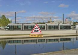 Nouveau Tramway Citadis X05 Alstom à Caen (14) - - Tram