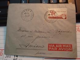 Enveloppe Timbre VIET-NAM Par Avion  BUU-CHINH 1952 - Vietnam