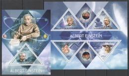 TG704 2013 TOGO TOGOLAISE SCIENCE SPACE NOBEL PRIZE WINNER ALBERT EINSTEIN KB+BL MNH - Albert Einstein