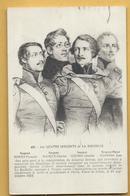 C.P.A. Les 4 Sergents De LA ROCHELLE - Historia