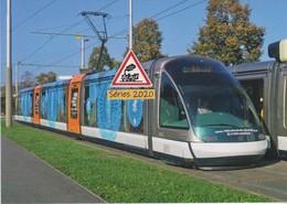 "Tramway Eurotram ""1000 Ans De La Cathédrale"" à Strasbourg (67) - - Strasbourg"