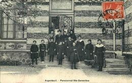 VAL D'OISE  ARGENTEUIL  INSTITUTION PENSIONNAT  SAINTE GENEVIEVE - Argenteuil