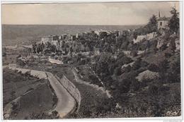 SAULT DE VAUCLUSE VUE GENERALE ET ROUTE DE CARPENTRAS CPSM 9X14 1952 TBE - Autres Communes