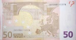 50 EURO BELGICA(Z) T018, TRICHET - EURO