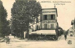 VAL D'OISE  ARGENTEUIL  Boulevard Alsace Lorraine Et Rue Carnot - Argenteuil