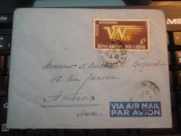 Enveloppe   Timbre  VIET-NAM Par Avion  1954 HANG-KHONG BUU-CHINH - Vietnam