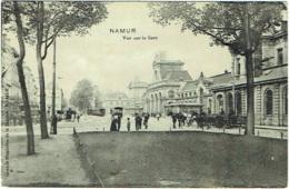 Namur. Vue Sur La Gare. - Namur