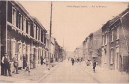 Monceau-sur-Sambre Rue Du Barbieux Avec Pub Au Verso Voir Scan - Montigny-le-Tilleul