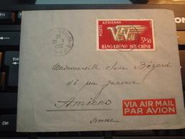 Enveloppe   Timbre  VIET-NAM Par Avion  1952 HANG-KHONG BUU-CHINH 3$30 - Vietnam