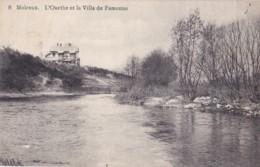 Melreux L'Ourthe Et La Villa De Famenne Circulée En 1925 - Hotton