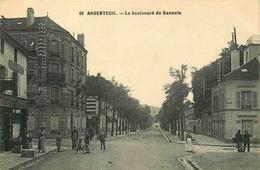 VAL D'OISE  ARGENTEUIL Le Boulevard De Sannois - Argenteuil
