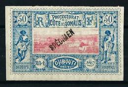 Costa De Somalia (Francesa) Nº 15(*) Specimen - Unused Stamps