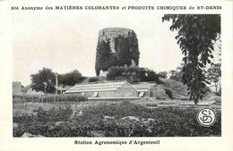 VAL D'OISE  ARGENTEUIL  Station Agronomique D'Argenteuil - Argenteuil