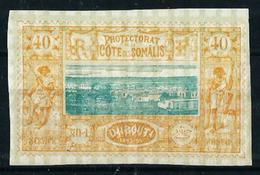 Costa De Somalia (Francesa) Nº 14* Cat.68€ - Unused Stamps
