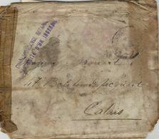 """WWI - Lettre De Belgrade ( Serbie ) Du 20 / 11 /18  Avec Mention """" CORRESPONDANCE RETARDEE / PAR SUITE D'UN INCENDIE - Marcophilie (Lettres)"""