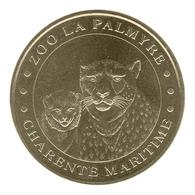 Monnaie De Paris , 2010 , Les Mathes , Zoo La Palmyre , Les Guépards - Monnaie De Paris