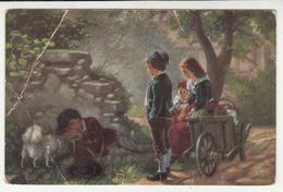 Bosch: Far From Home Old Postcard Posted B200115 - Grupo De Niños Y Familias