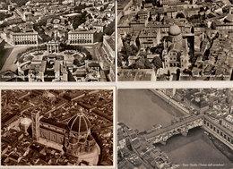 (C).Firenze.Lotto 7 Cartoline Differenti Con Vista Dall'aereo (2scan) (c20) - Firenze