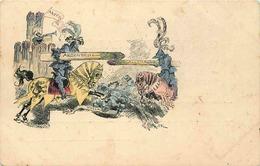 VAL D'OISE  ARGENTEUIL  (illustrateur ROBIDA )  Argenteuil / Allemagne  ASPERGES - Argenteuil