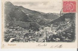 MEXIQUE - ANGANGUEO . CPA Voyagée En 1906 Vue Générale - Messico