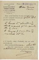CP 10c Mouchon Avec Repiquage 'Anciens établissements PANHARD & LEVASSOR' - Biglietto Postale