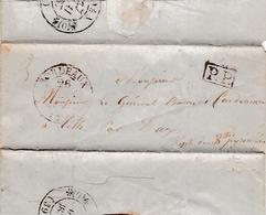 1837 - Lettre Au Général Baron De CARDENAU à TILH (40) De MOUTON (16) - Historical Documents