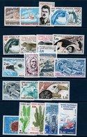 TAAF 1984/1986  Années Complètes De 1984-86   N°YT 102 à 121 Tous ** MNH - Terres Australes Et Antarctiques Françaises (TAAF)